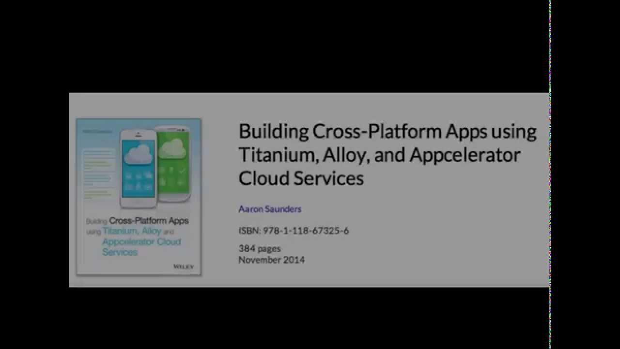 Appcelerator Titanium Alloy Simple TableView Mobile App