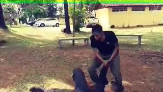Tentativa de assalto, técnica de imobilização Lifestyle Tactical Sistem