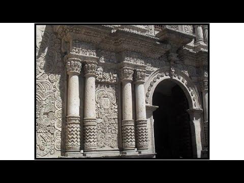Documental Sobre La Iglesia De La Compañía Y Colegio De Santiago En Arequipa, Perú,