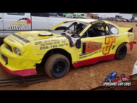 #3R Jay Cooper - Mini Stock - 7-14-18 North Alabama Speedway - In Car Camera