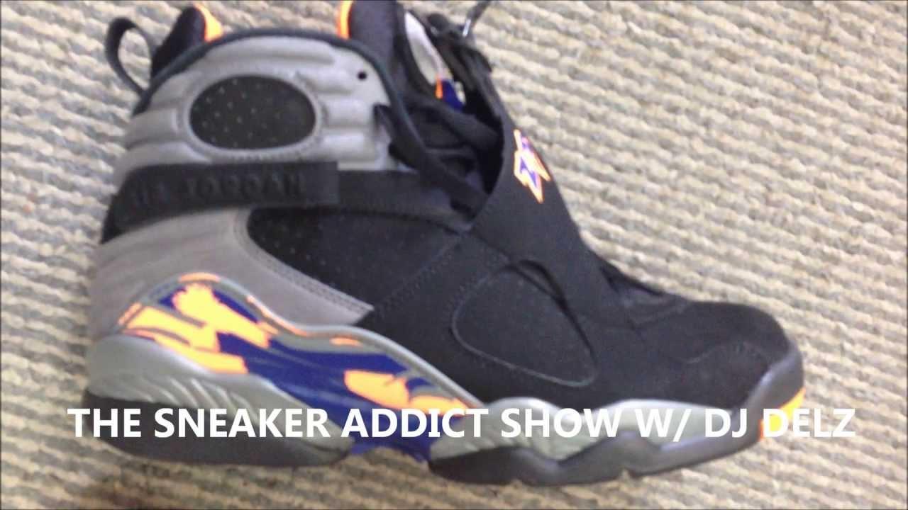 465c126953541a 2013 Air Jordan 8 Phoenix Suns Knicks VIII Shoe Review W   DjDelz Dj Delz  The Sneaker Addict