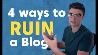 4 On-Page SEO Mistakes That Can Ruin a Blog