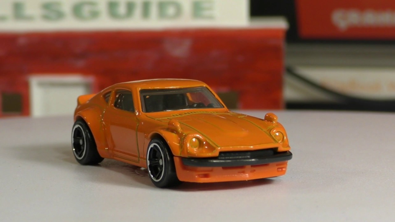 2017 Hot Wheels H Case #174 Custom Datsun 240Z - New Model - YouTube