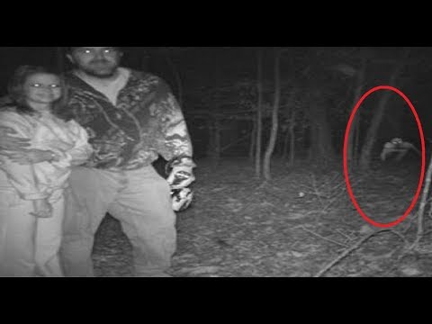 Top 10 Creepiest Pics Accidentally Captured On Trail Cameras - Scary - Creepy pictures