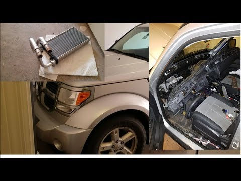 2008 Dodge Nitro heater core no heat