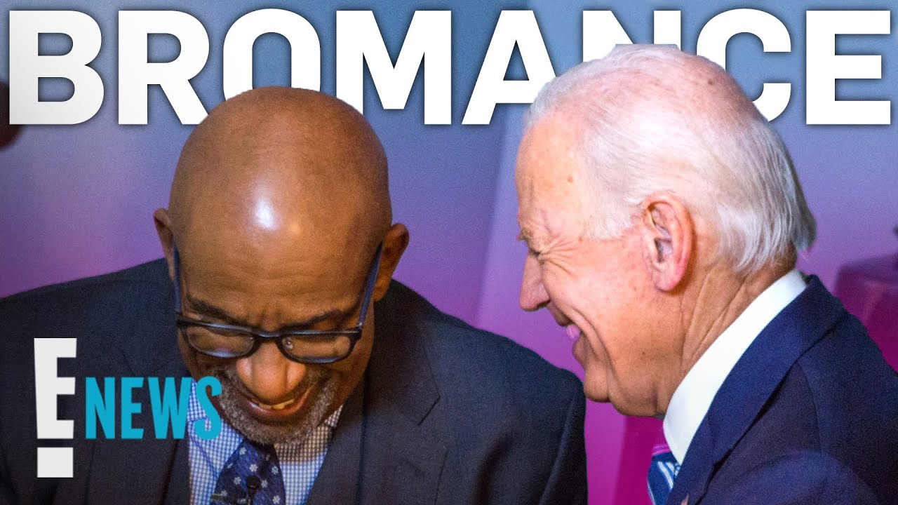 Joe Biden & Al Roker's Epic Bromance | E! News - YouTube