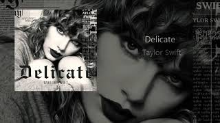 Delicate Acoustic version (Spotify singles)