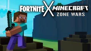 MINECRAFT ZONE WARS (Fortnite Creative) **Island Code In Description**