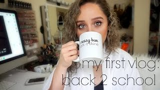 VLOG: MORNING ROUTINE + BACK 2 SCHOOL STUDY TIPS