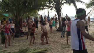 Goa, Arambol - Querim beach. Trance party. Shiva birthday 2015
