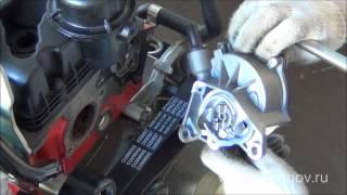Вакуумный насос его крепление и демонтаж с двигателя Cummins ISF 2.8L ЕВРО4  5270422(, 2013-04-30T10:57:46.000Z)