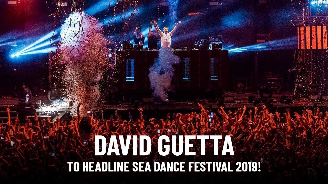 David Guetta to headline Sea Dance Festival 2019!