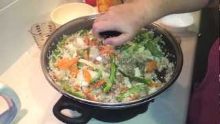 How To Make Pork Fried Cauliflower Rice (paleo/primal/low Carb)