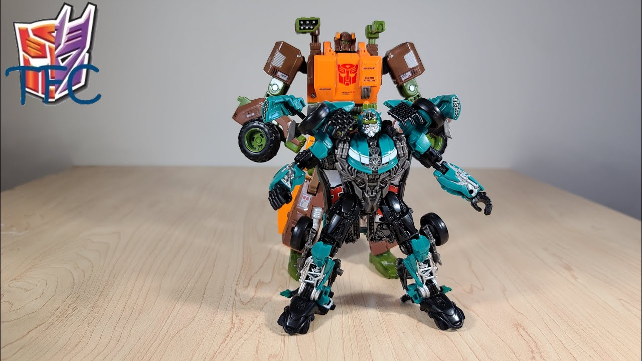 TF Collector Studio Series Roadbuster Review!
