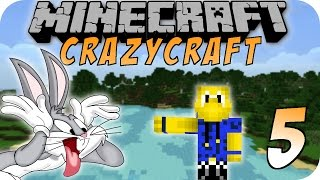 Minecraft CHAOS CRAFT #05 - Toon Town Mod Erkundung