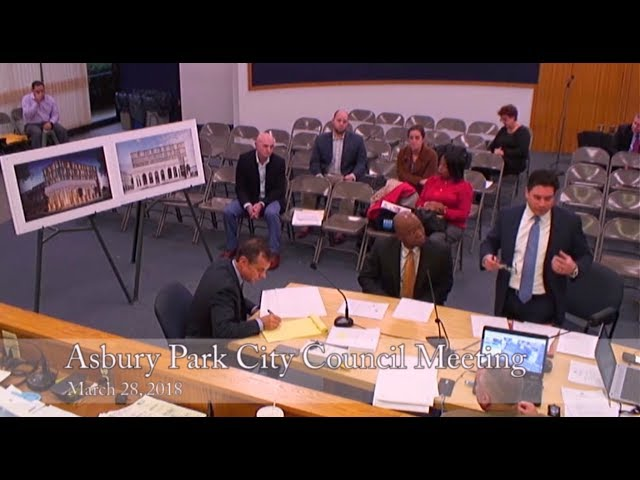 Asbury Park City Council Meeting - March 28, 2018