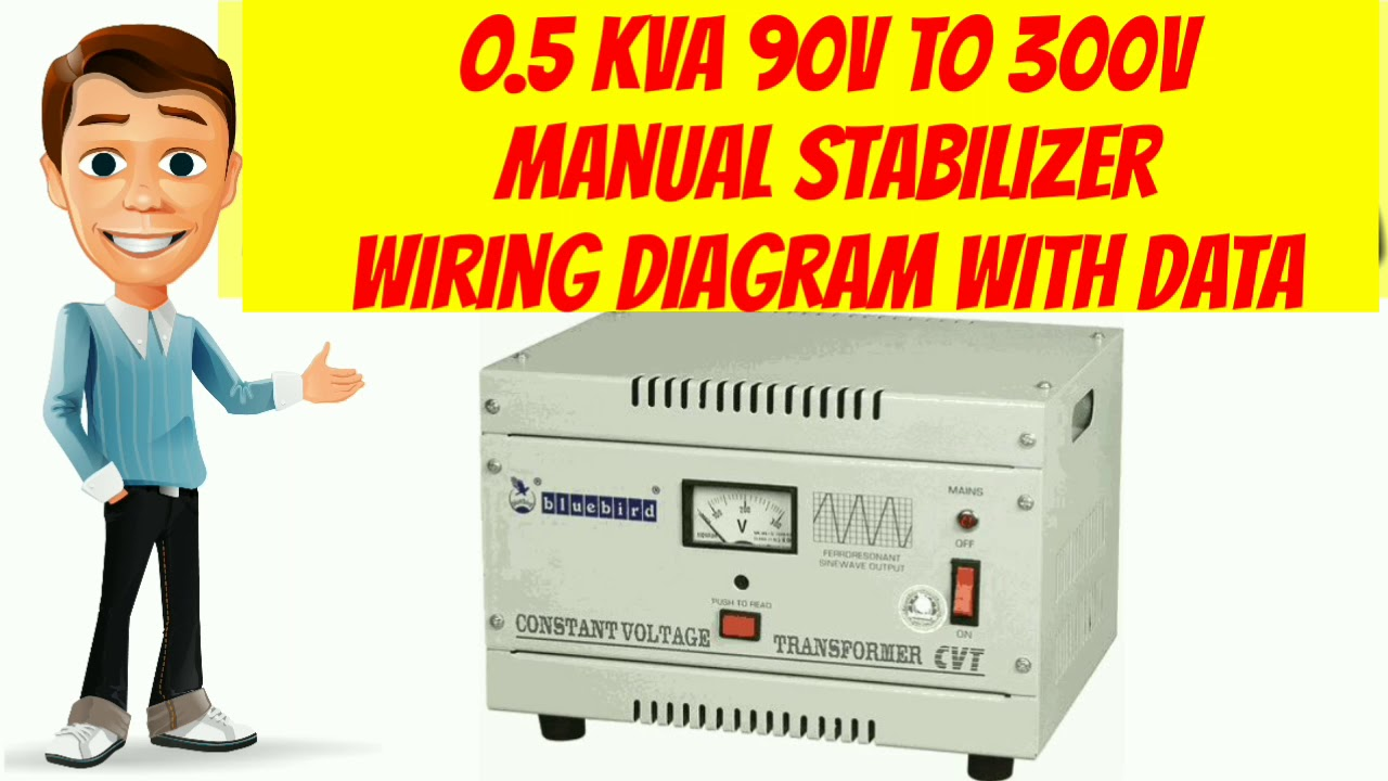 05kva 90v To 300v Manual Stabilizer Wiring Diagram With Data Youtube If You Are Looking For The Formal