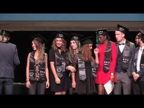Cérémonie de remise de diplômes EFJ Paris - Promotion 2016