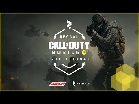 [LIVE CODM] RevivalTV COD Mobile Invitational - Day 2