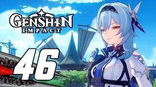 Genshin Impact - Gameplay Walkthrough Part 46 'Eula' (PS5)