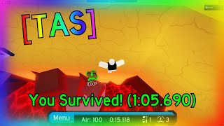 [TAS] Beneath The Ruins in 1:05.690 | Flood Escape 2