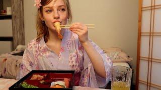 【綺麗すぎる日本料理】オランダでおいしいお弁当【一緒に食べよ】