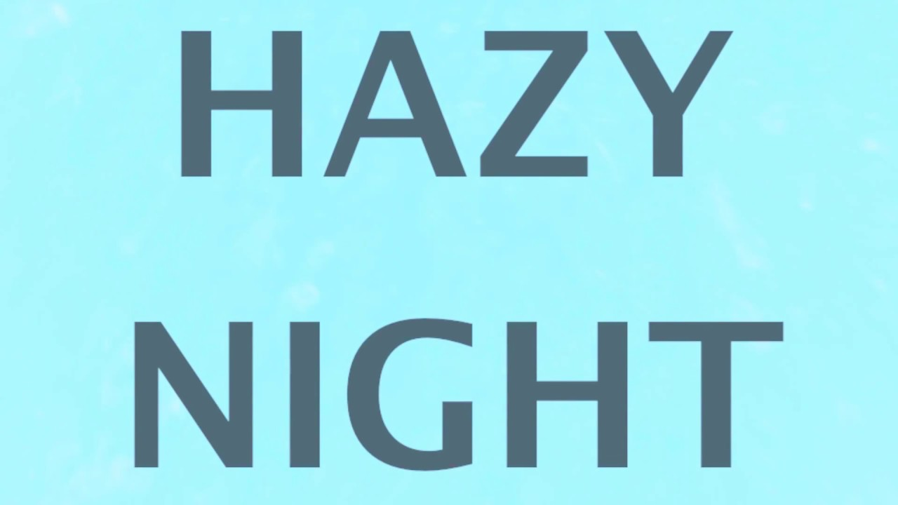 "Instrumental Dream Cocktail ""Hazy Night"""