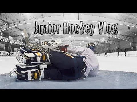 Junior Hockey Vlog Ep 9: No Helmet / Broken GoPro / Checkers | Mic'd GoPro Hockey