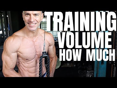 How Much Training Volume To Grow Muscle | Hypertrophy