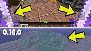 minecraft pe 0 16 0 duas mos templo de guardian e mais ideias para a atualizao