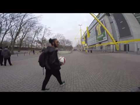 Amazing Freestyle Football Skills in Germany