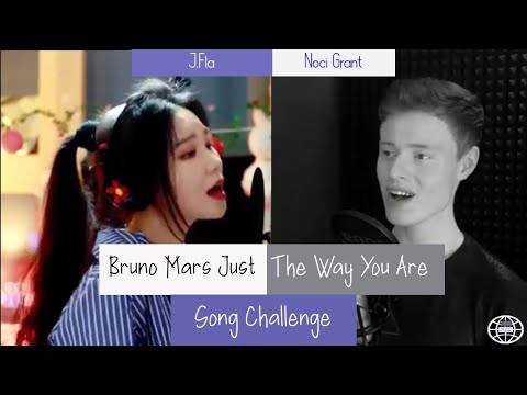 Song Challenge:Bruno Mars - Just The Way You Are J.Fla  Vs Noci Grant
