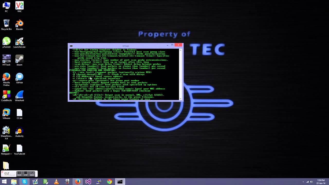 Windows command prompt nmap - Nmap Cmd