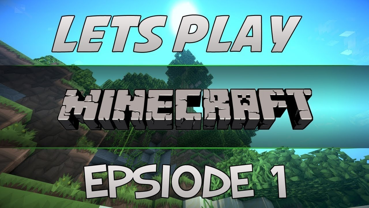 Minecraft Episode 1 Surviving Your First Night Let S Play
