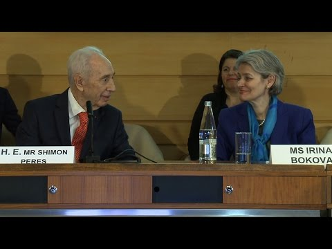 Visit of H.E. Mr Shimon Peres, Ninth President of the State of Israel