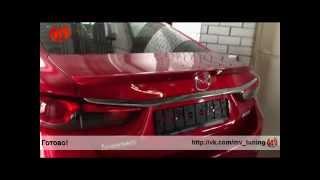 Инструкци по установке лип спойлера Mazda 6