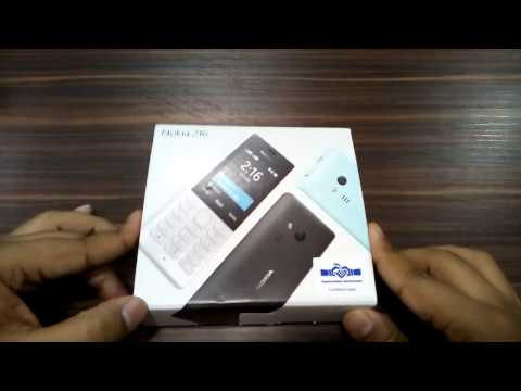 Nokia 216 Dual Sim |  Unboxing | Selfi flash Camera |
