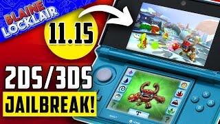 How To Jailbreak 3DS 11.15 & 2DS NËW 2021 Guide!