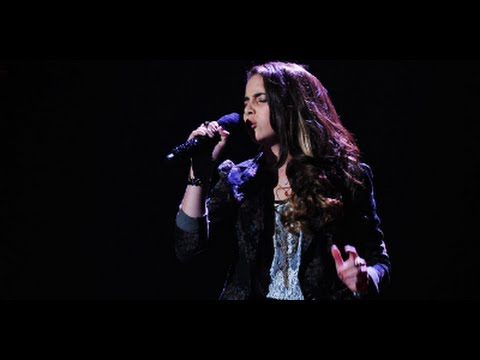 """Carly Rose Sonenclar """"As Long As You Love Me"""" - Live Week 6 - The X Factor USA 2012"""