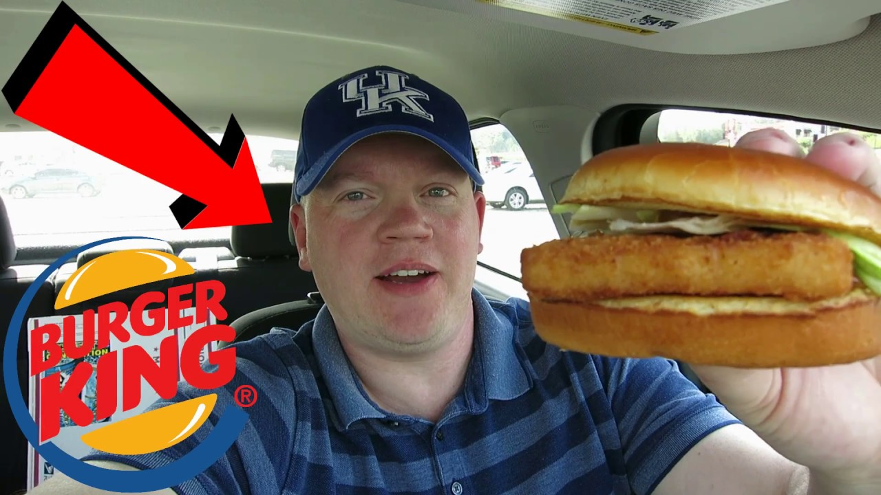 Reed reviews burger king spicy big fish sandwich youtube for Burger king big fish