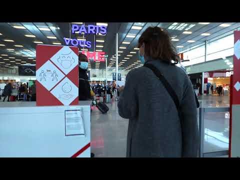 Paris Aéroport Safe Travel Parcours sanitaire au Départ