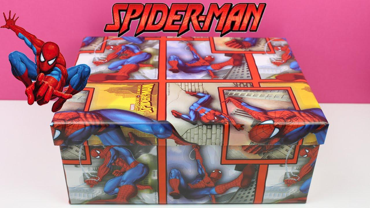 Caja Sorpresa de SPIDERMAN  Juguetes de Spiderman en espaol