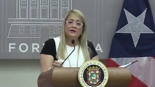 Wanda Vázquez habla públicamente tras referidos al FEI