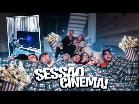SESSÃO CINEMA DE TERROR COM TODOS OS CASAIS DA MANSÃO 2 !