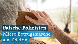 Falsche Polizisten: Miese Betrugsmasche am Telefon