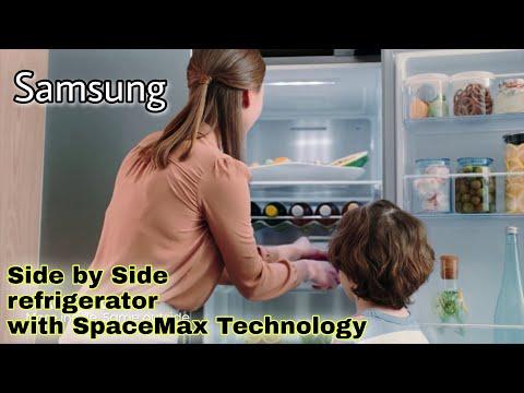 Samsung Spacemax Refrigerator/ Samsung Side By Side Refrigerator With SpaceMax™ Technology
