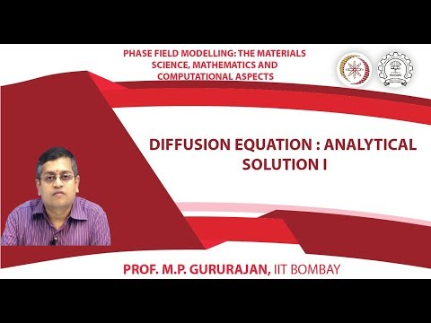 Diffusion equation : Analytical solution I