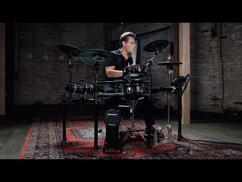 Roland TD-27KV V-Drums | Overview with Thomas Lang