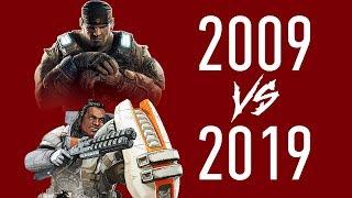 #10yearchallenge Игровая Индустрия 2009 vs 2019