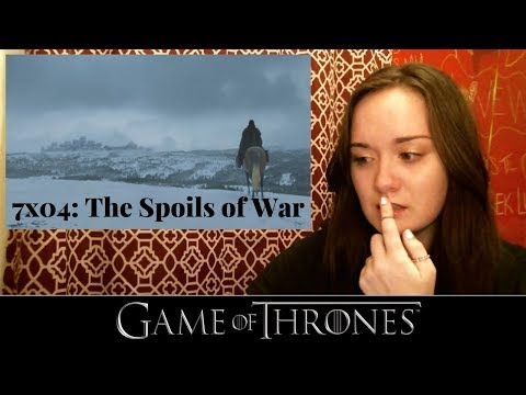 Game of Thrones Reaction | 7x04: The Spoils of War